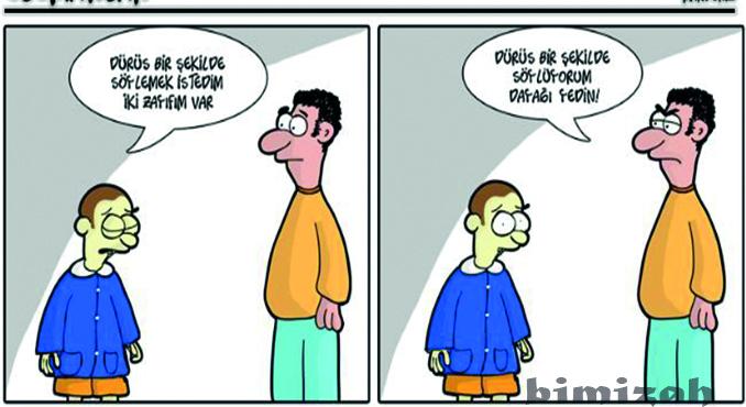 Komik Karikatürler – Bi Mizah