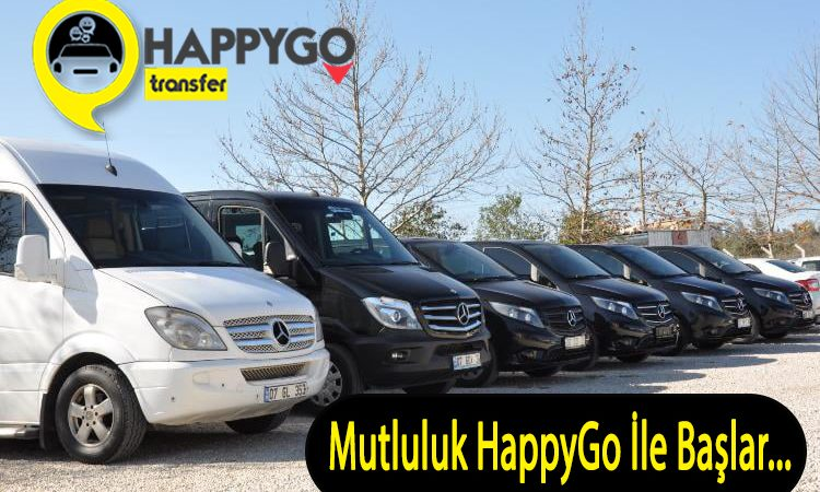 Antalya Havalimanı Transfer Hizmetleri – Mutluluk HappyGo ile Başlar