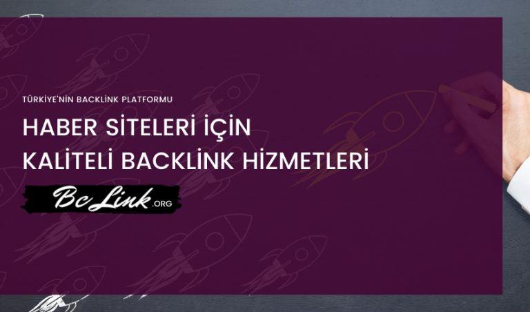 Haber Sitesi Backlink Hizmeti
