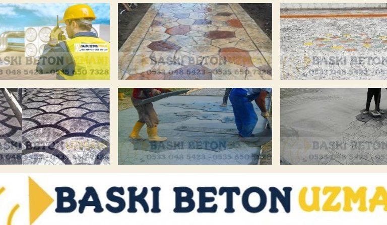 Baskı Beton Uzmanı | 05330415423 | Istanbul & Türkiye Geneli Servis
